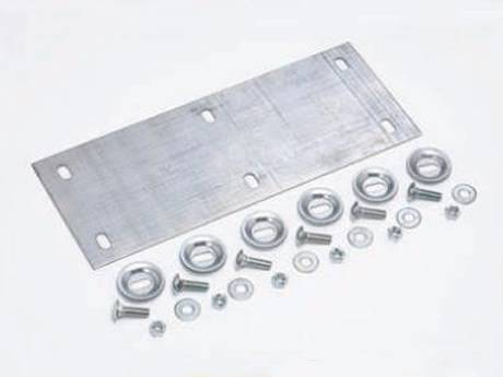 O-grip safety grating surface splice plate for wider uses.